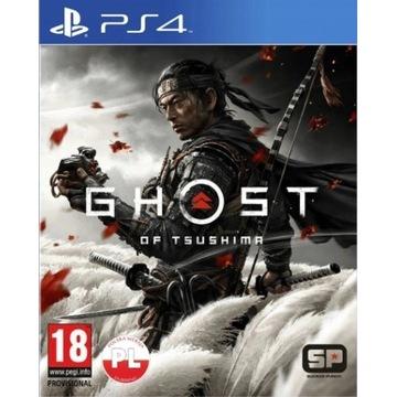 GHOST OF TSUSHIMA PS4 PL PLAYSTATION 4 + DLC