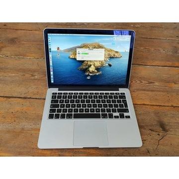 macbook pro 13 retina 1tb ideał do obróbki zdjęć!