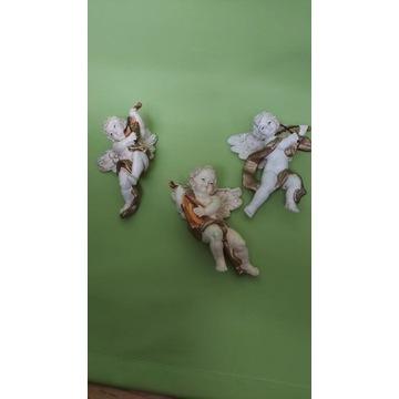 Aniołek- Aniołki- Francja- Celuloid- Figurki