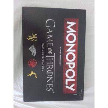 Monopoly w wersji gra o tron