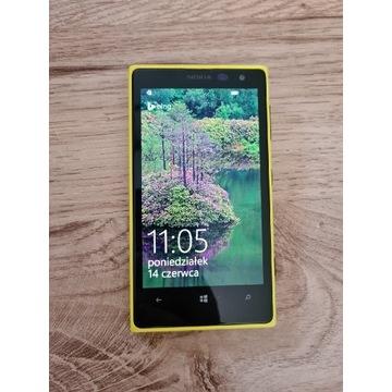 Telefon smartfon Nokia Lumia 1020 41MPX żółty
