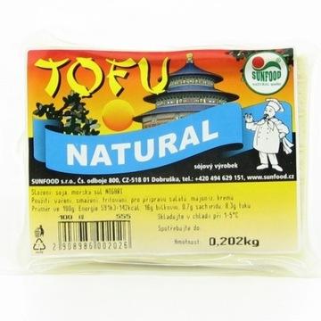 Tofu NATURAL 200g - SunFood (00100)L