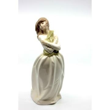 Porcelanowa figurka Dziewczyna