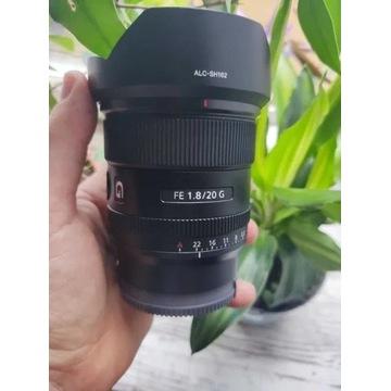 Obiektyw SONY FE 20mm F/1,8 G