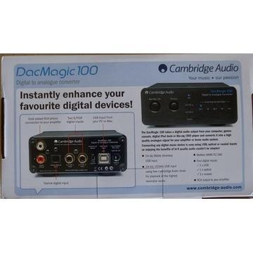 Cambridge Audio Dac Magic 100 czarny, nowy