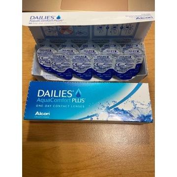 Soczewki 44 sztuk +1.00 Dailies Aqua Comfort Plus