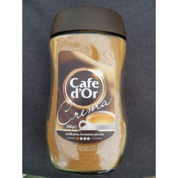 Cafe d'Or Crema delikatna, kremowa pianka