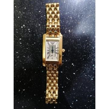 Zegarek Damski Emporio Armani (pozłacany)