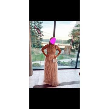 Suknia Sukienka Slub Wesele Okazja 40