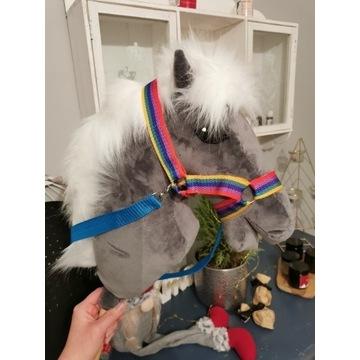 Koń Hobby Horse na kijku + zestaw - Aurello