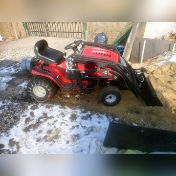 TUR ładowacz przedni/kosiarka/traktorek MTD 155-T