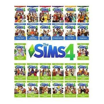 The Sims 4 wszystkie dodatki VIP