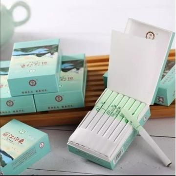 Rzuć palenie!!! Papierosy ziołowe Yunnan z miętą.