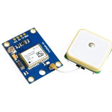 Moduł GPS GY-NEO6MV2 z anteną