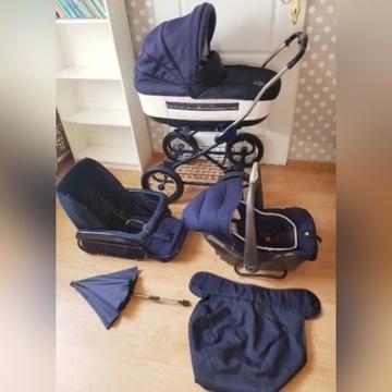 Wózek ROAN Marita 3 w 1 plus łóżeczko turystyczne