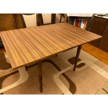 stol rozkladany, vintage PRL