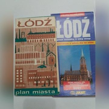 Plan miasta Łódź wyd. PPWK i JOKART 2001