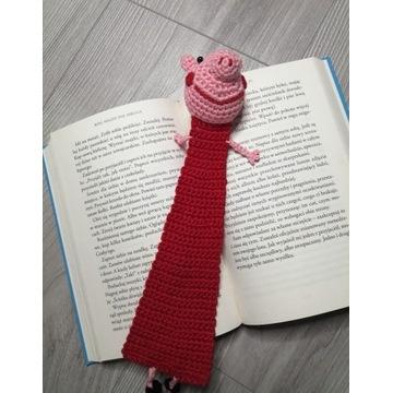 Świnka à la Peppa - zakładka do książki