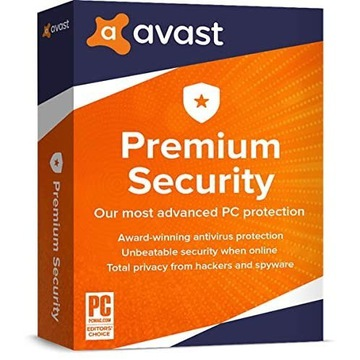 Avast Premium Security klucz 120 dni / 5 PC