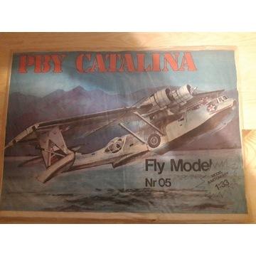 Model kartonowy PBY CATALINA nr 05 Fly Model BCM
