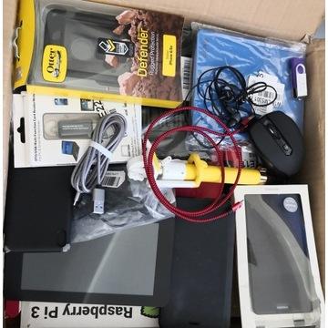 Pakiet paczka zestaw różności elektroniki mix paka