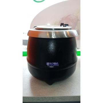 Kociołek do zup garnek podgrzewacz poj. 10 litrów
