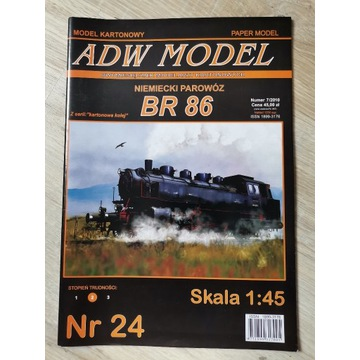 Parowór BR 86 + Lasery
