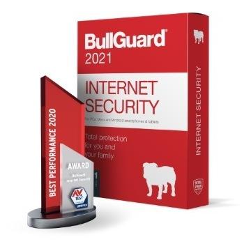 Antywirus BullGuard Internet Security 3 PC 1 ROK