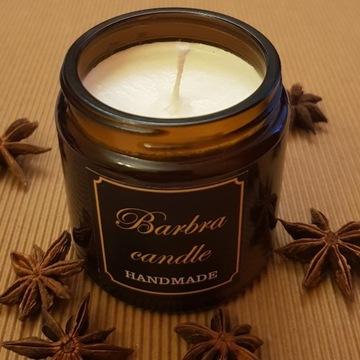 Świeczki naturalne z wosku sojowego i miodowego