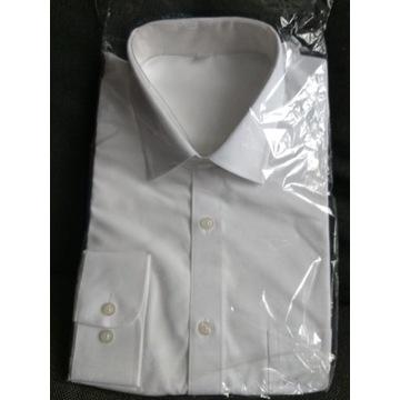 Koszula męska wizytowa biała