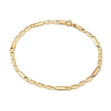 Złota bransoletka łańcuszek 585 prezent dla kobiet