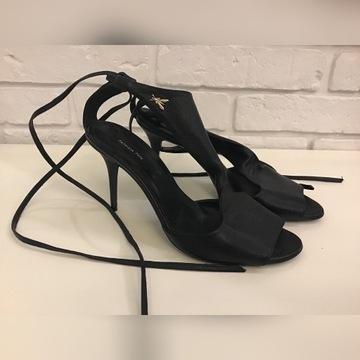 Skórzane buty Patrizia Pepe