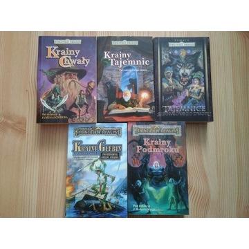 Forgottem Realms zestaw 11 książek