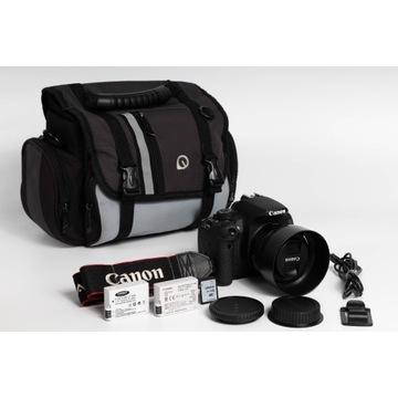 Canon EOS 700D   Canon EF 50mm f/1.8   Akcesoria