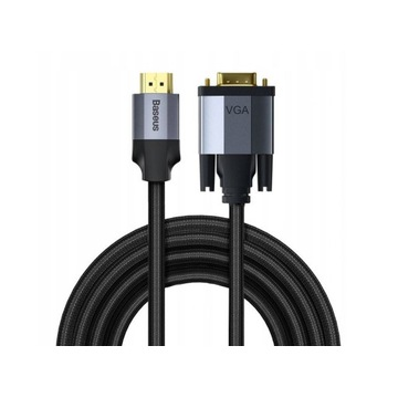 BASEUS KABEL PRZEWÓD HDMI DO VGA D-SUB FULL HD 2M