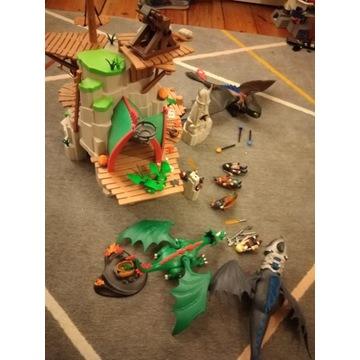 Playmobil wyspa Berk +Szczerbatek