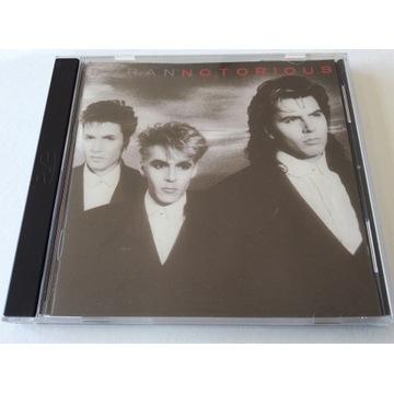 Duran Duran Notorious CD EMI Records 1986