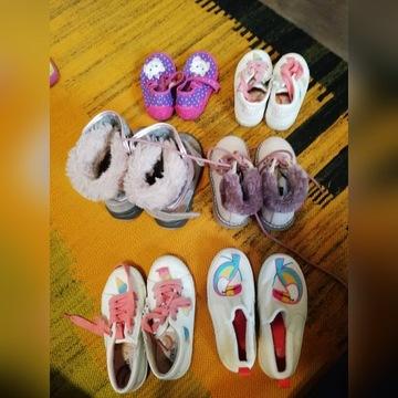Buty rozmiar 25 dziewczęce