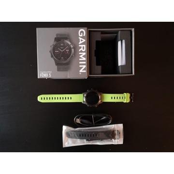 Zegarek Garmin Fenix 5 - sprawny, b.dobry stan; Wr