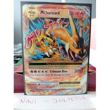 Pokemon MCharizard EX 13/108 M/NM Evolutions