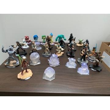 Figurki Disney infinity  star wars kraina lodu