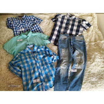 Mega paka, koszule, spodnie, L- XL,Reserved, House