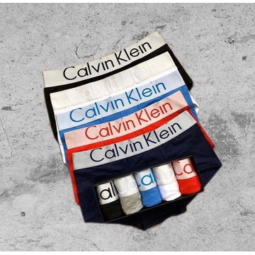 ORYGINALNE CALVIN KLEIN! 5pack bielizna męska r.L