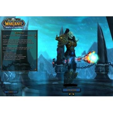~6k Warrior, ~5.6 DK, ostatni Q SM, Warmane