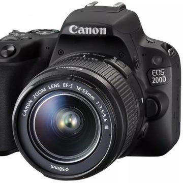 Lustrzanka Canon EOS 200D