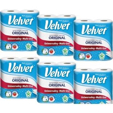 Velvet Original ręcznik papierowy wytrzymały x6