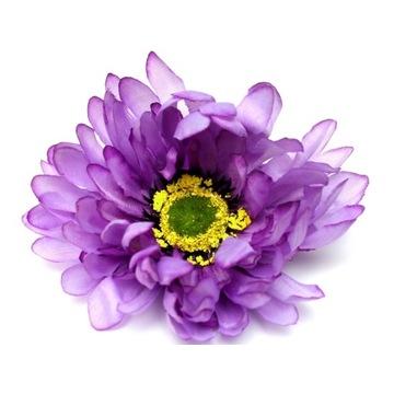 sztuczne kwiaty CHRYZANTEMA główka kwiatowa fiolet