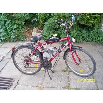 Rower z silnikiem 50cm3 /Maretti/