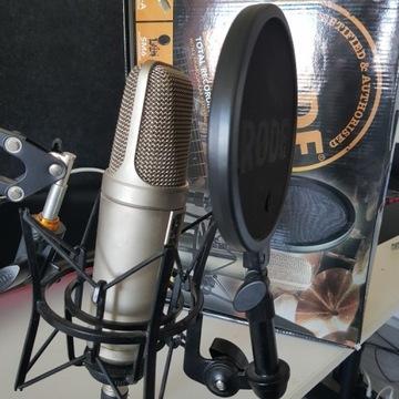 Zestaw mikrofon pojemnościowy Rode NT2-A