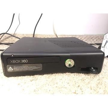 Xbox 360 slim komplet zasilacz + pad